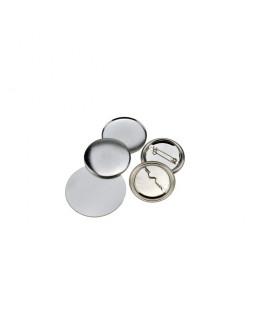 100 badges épingles 56mm