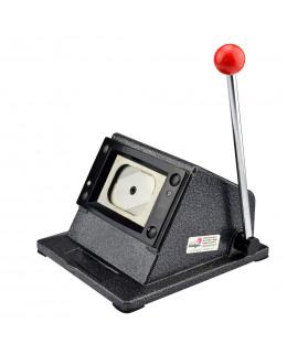 Outil de découpe pour badges et magnets de dimensions 25x70mm