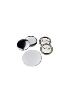 Pièces pour 200 badges 37mm