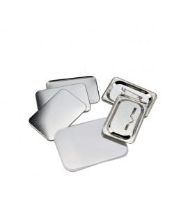 Pièces pour 100 badges 60x40mm