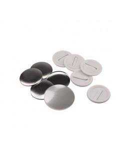 Pièces pour 100 badges clip 50mm