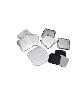 Pièces pour 100 magnets 37x37mm