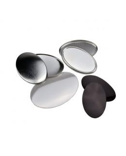 Pièces pour 100 magnets 65x45mm ovales