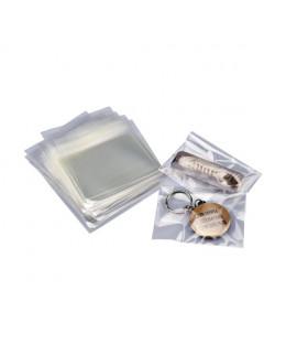 Lot de 100 sachets Polypro à fermeture adhésive 60x80mm