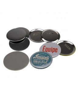 Pièces pour 100 badges 90mm
