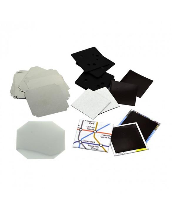 Pièces pour 100 magnets 50x50mm