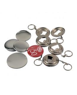 Pièces pour 100 décapsuleurs porte-clés 50mm