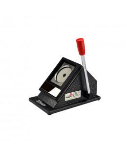 Outil de découpe pour badges et magnets de diamètre 37mm